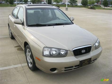 Hyundai Elantra Gls 2003 by 2003 Chagne Beige Hyundai Elantra Gls Sedan 51425526