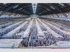Die Terrakotta Armee in Xi'an
