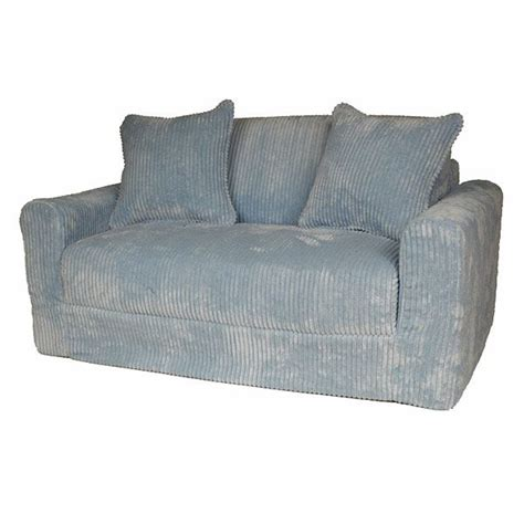 Blue Chenille Sofa by Sofa Sleeper In Blue Chenille Dcg Stores