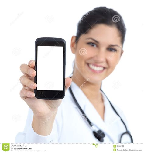 how to show phone screen on pc how to display your android phone s screen on a pc beautiful doctor smiling and showing a blank smart