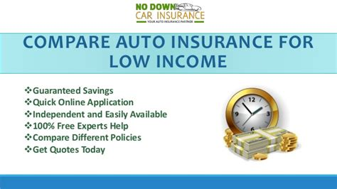 Find The Best Low Income Car Insurance Policy