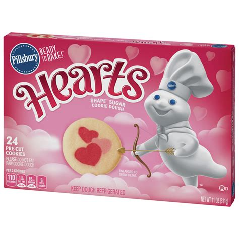 If you're trying to get a jump on the holiday baking and want to freeze these cookies and decorate them at a later time, there are a few hard and fast rules you should follow: Pillsbury Ready To Bake Shape Sugar Cookies Hearts | Hy-Vee Aisles Online Grocery Shopping