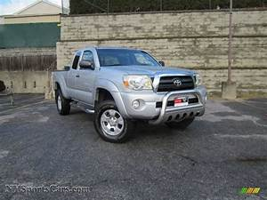 2005 Toyota Tacoma V6 Trd Access Cab 4x4 In Silver Streak