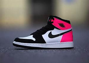 Air Jordan 1 GG Black Pink Valentine's Day 2017 ...