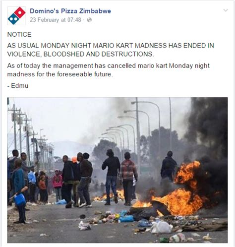 Dominos Pizza Zimbabwe Is A Thing - Funny Gallery | eBaum ...