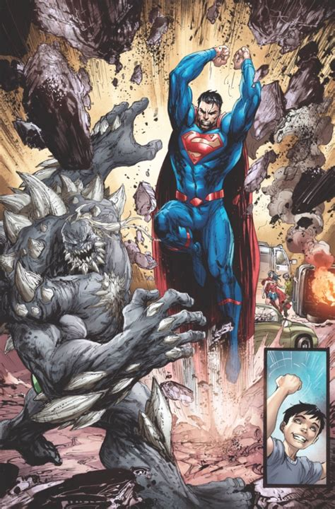 july   superman rebirth panel details  sdcc