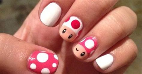 Toad & Toadette From Super Mario Bros