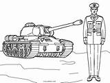 Army Coloring Pages Printable Tank Boys Sheets Cool2bkids Guy Handsome Summary sketch template