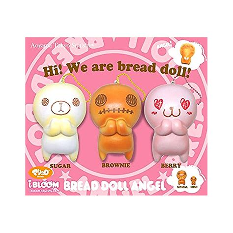 big bread doll squishy 3 colors