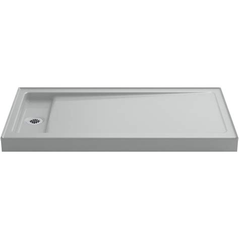 kohler cast iron shower base kohler bellwether 60 in x 32 in single threshold shower 8813