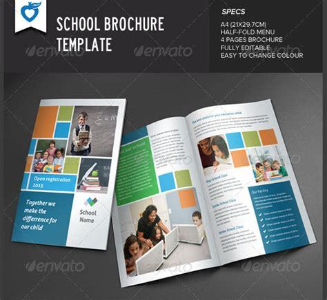 school brochure templates  premium