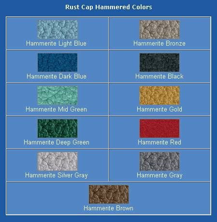 hammerite color chart mirrors metals and house