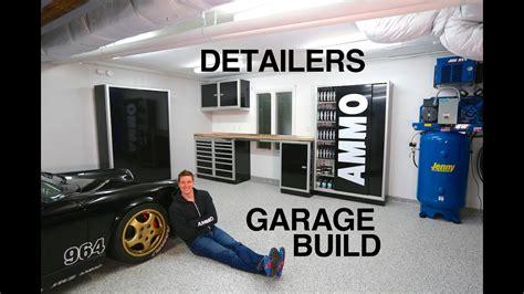Mobile Garage Lighting by Ultimate Garage Build For Detailers