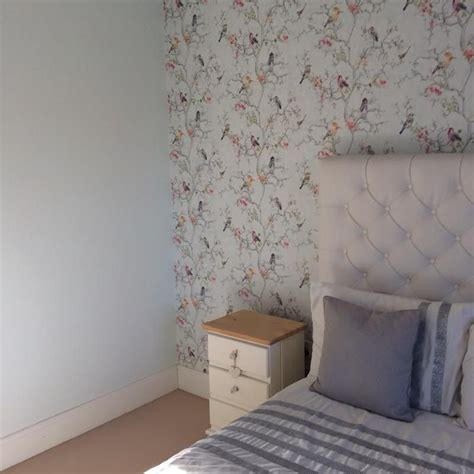 B And Q Bedroom Wallpaper by Review Photo 1 Wallpaper Bedroom Decor Blue