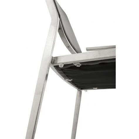 chaise inox chaise design inox noir