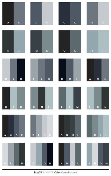 black and white to color color scheme black white color schemes color