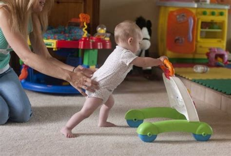 baby walker carpet push independent walkers child base activity sturdy wheel