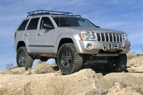 jeep grand cherokee trailhawk lifted superlift k864 4 quot lift kit for 05 07 jeep grand cherokee