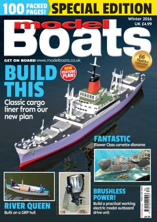 Model Boats Uk Magazine by Model Boats Magazine Subscription Isubscribe Co Uk