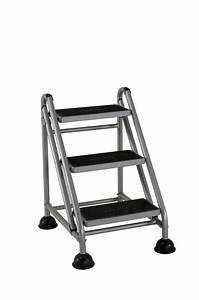 Cosco Products 3 Step Rolling Step Ladder