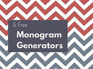 5 free monogram generators With free monogram generator