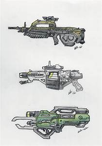 Halo - UNSC Weapons 1 by ninboy01 on DeviantArt
