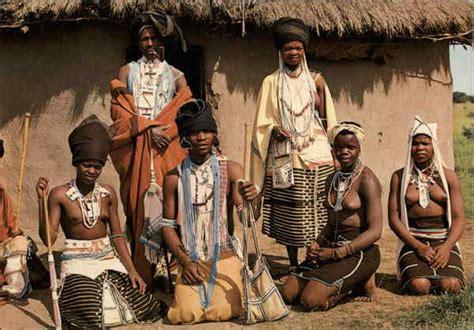 pondo men  women  tribal dress south africa