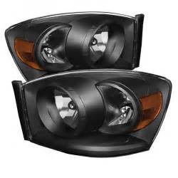 2006 Dodge Ram 1500 Lights by Xtune 2006 2008 Dodge Ram 1500 Headlights