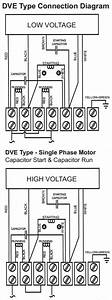 Dual Voltage Single Phase Motor Wiring Diagram   46 Wiring