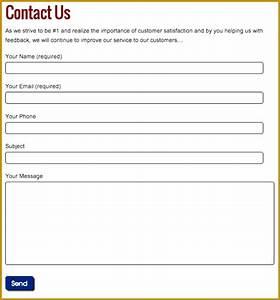fantastic customer contact information template ideas With update contact information form template
