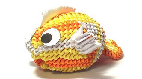 Origami Koi Fish Tutorial Remake Youtube