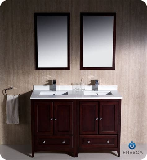 fresca fvn mh oxford  traditional double sink