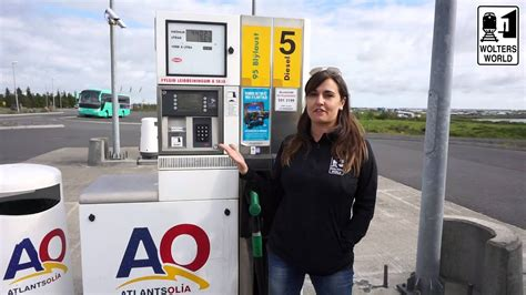 That Is On Gas by Less Gas Stations In Iceland Driving Iceland