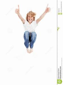 Kid jumping stock image. Image of barefooted, kids, leap ...