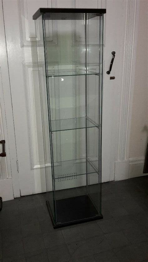 Ikea Detolf Glass Display Cabinet Light by Ikea Detolf Glass Display Cabinet In Stapleton Bristol