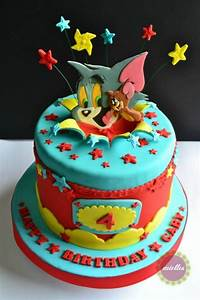 Tom & Jerry All-Star Birthday Cake - Cake by miettes ...