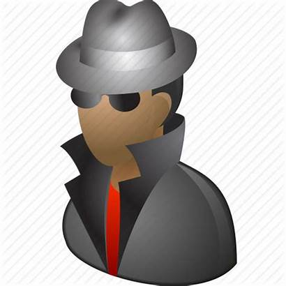 Agent Spy Hacker Icon Fbi Cia Detective