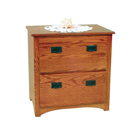 mission file cabinet 4 solid wood amish home office furniture al mission lateral