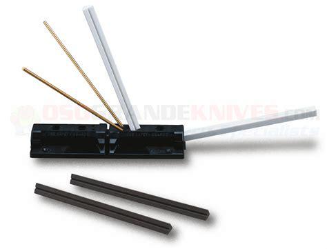 spyderco sharpmaker kitchen knives spyderco 204mf tri angle sharpmaker knife sharpening set