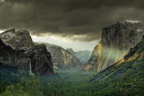 cliff, Mountain, Valley, Landscape Wallpapers HD / Desktop ...