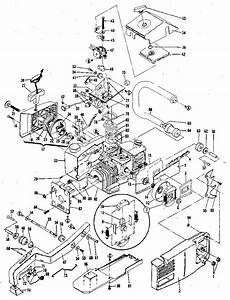 Mcculloch Pro Mac 610 Chain Saw Parts