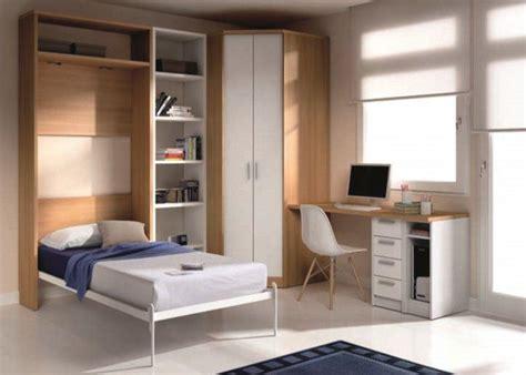 lit mezzanine avec bureau et armoire integres armoire lit escamotable atlas avec bureau et rangements couchage 90 190cm