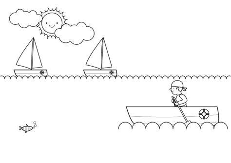 Imagenes De Barcos Sin Pintar by Barco Sin Vela Dibujo Para Colorear E Imprimir