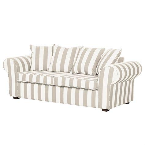 canape tissu rayures commander un canapé simple 3 places par sur