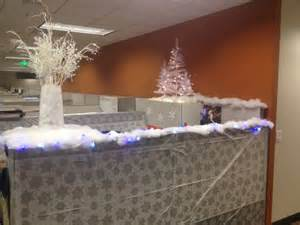 christmas cubicle decorating office christmas decoration ideas pi