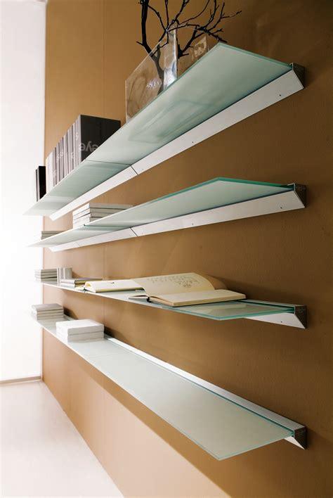 mensole alluminio mensola in alluminio e vetro eidos collezione mensole by