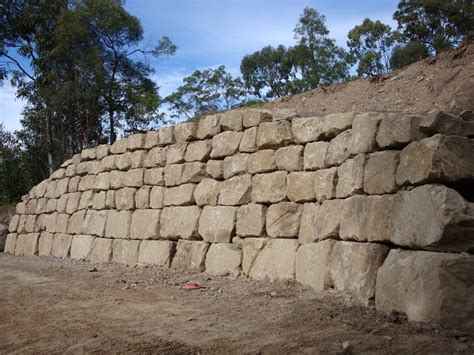 boulders for retaining wall australian retaining walls sandstone boulder retaining walls australian retaining walls