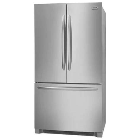 frigidaire cabinet depth refrigerator fghg2368tf frigidaire gallery 22 39 counter depth french