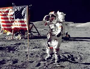 Apollo 17 Jump Salute