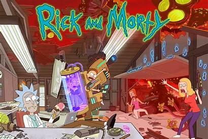 Morty Rick Tv Season Swim Adult Shows